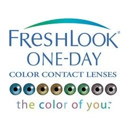 Ciba Vision FreshLook® ONE-DAY® 10 Blue Blend
